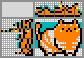 Японский кроссворд Рыжий кот