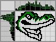 Японский кроссворд Крокодил