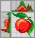Японский кроссворд Сочное яблоко