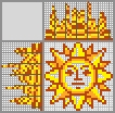 Японский кроссворд Солнце
