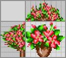 Японский кроссворд Букет цветов