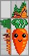 Японский кроссворд Морковка
