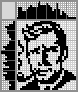 Японский кроссворд Портрет мужчины