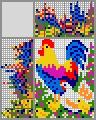 Японский кроссворд Куриное семейство