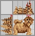 Японский кроссворд Собачка
