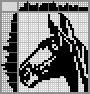 Японский кроссворд Лошадь